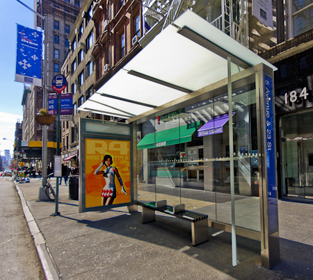 Public Design: The latest New York City Bus Shelters