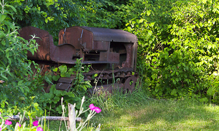 Old Tractor at the Celery Farm in Allendale, NJ